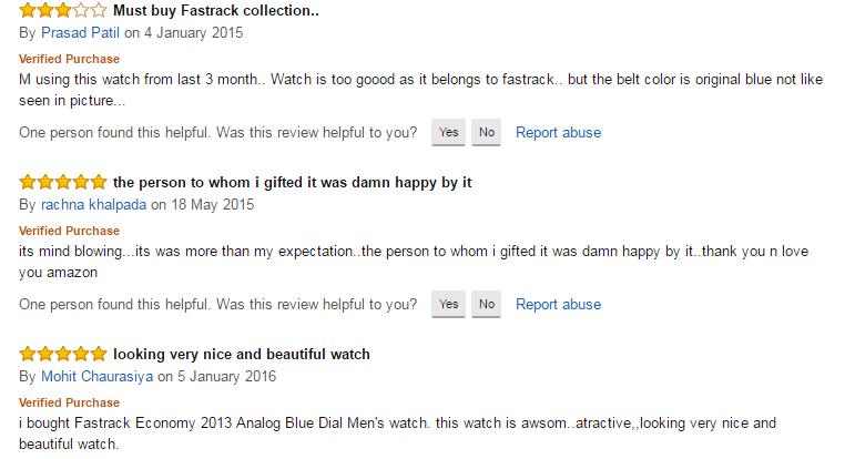 Reviews of amazon India