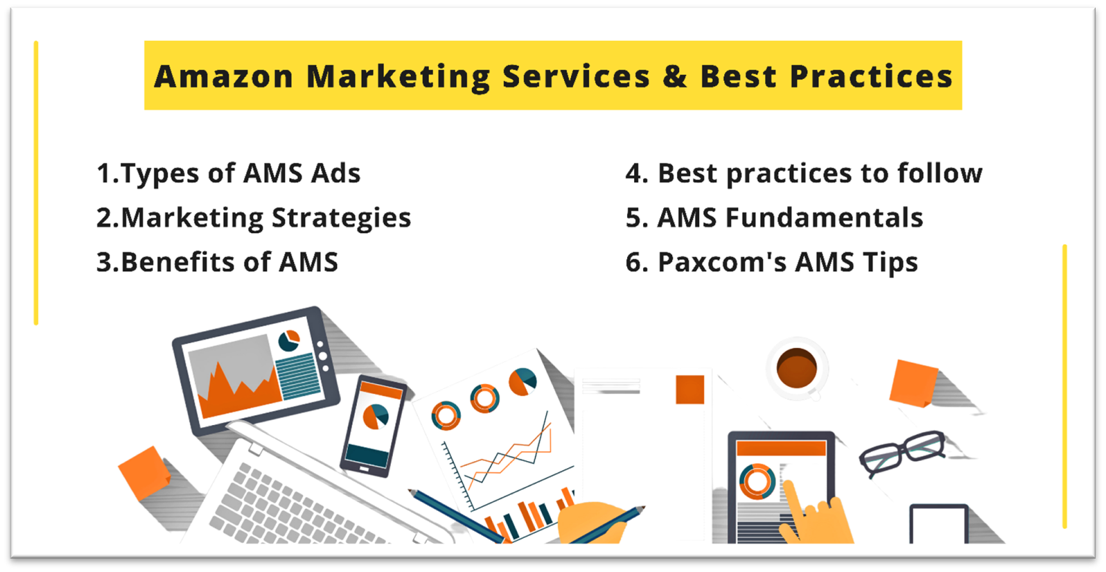 TOP 6 Amazon marketing services and its best practices