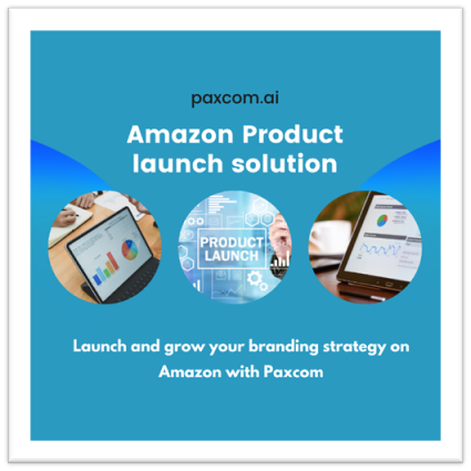 Paxcom's product launch solution offers services  rank at the top and grow their brand on Amazon