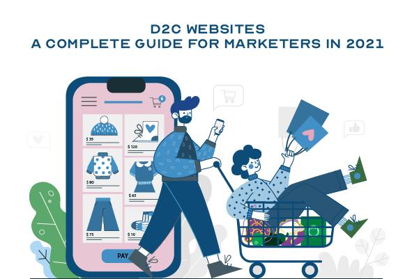 D2C website creation