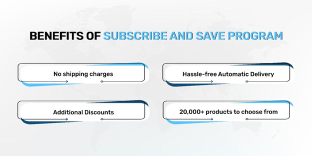 Benefits of subscribe and save program