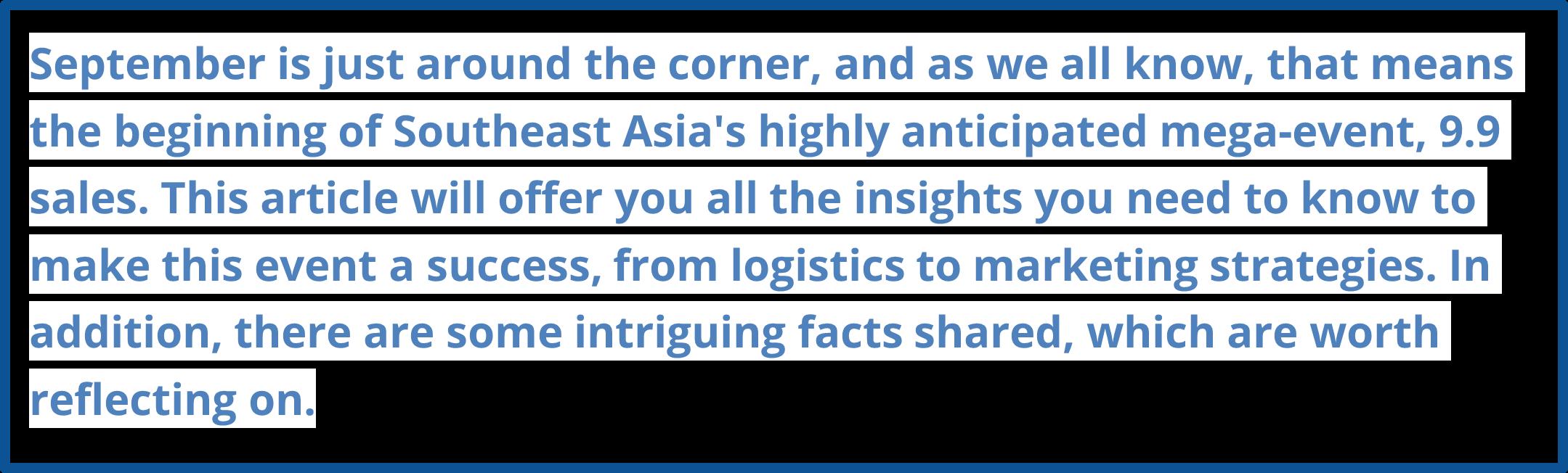 southeast asia e-commerce
