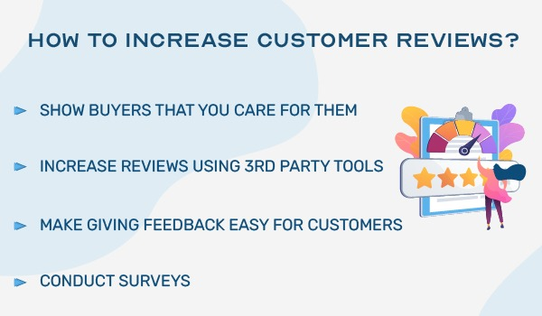 How to increase customer reviews