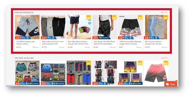 Shopee Targeting Ads