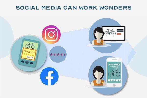 social media can work wonders