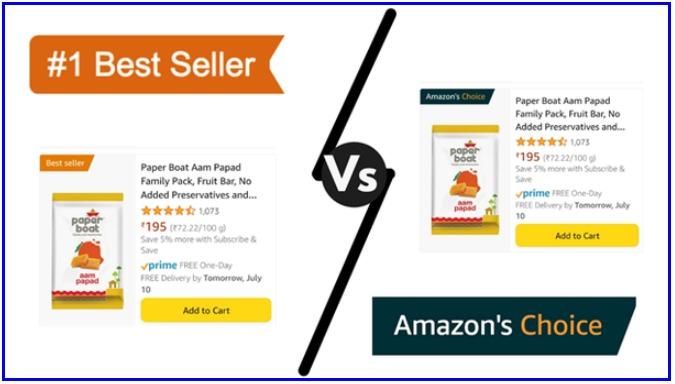 Amazon Best Seller & Amazon Choice