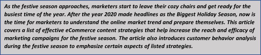 eCommerce content strategies